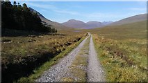 NH1675 : Track leading from A832 down to Loch a' Bhracin by Colin Park