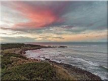 NJ1570 : Sunset from the Moray Coast Trail by valenta