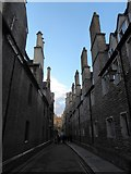 TL4458 : A round the colleges route to Downing Street (60) by Basher Eyre