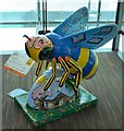 SJ8498 : Tithe Barn Bee by Gerald England