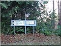 TM4698 : Roadsigns on the B1074 Herringfleet Road by Adrian Cable