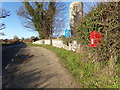 TM4797 : B1074 St Olaves Road & St. Margaret's Church Postbox by Adrian Cable