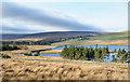 NY9120 : Moorland on south side of Selset Reservoir by Trevor Littlewood