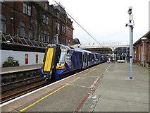 NS3421 : Ayr railway station by Thomas Nugent