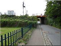 NS3420 : Chalmers Road railway bridge by Thomas Nugent