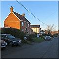 TM2744 : Waldringfield: winter sunlight, School Road by John Sutton