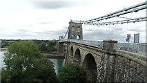 SH5571 : Menai Suspension Bridge by Colin Park