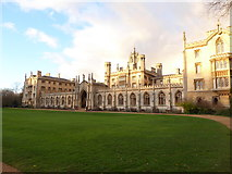 TL4458 : A round the colleges route to Downing Street (96) by Basher Eyre