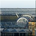 SE5951 : Roofscape, York Railway Station by Alan Murray-Rust