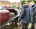 SJ9494 : Showing off his Alvis engine by Gerald England