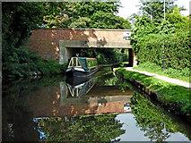 SK0418 : Church Bridge in Rugeley, Staffordshire by Roger  Kidd