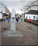 NS5574 : Start of the West Highland Way, Milngavie by Richard Sutcliffe