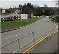 ST3391 : St Cadoc's Hospital entrance 3, Caerleon by Jaggery
