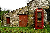H5956 : Old telephone box, Cleanally by Kenneth  Allen