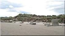 NJ2270 : Dunes, Stotfield Links by Richard Webb