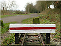 SJ9459 : End of the LRR line by Stephen Craven