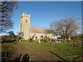TM4997 : St. Mary's Church, Somerleyton by Adrian Cable