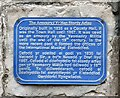 SJ2141 : Blue Plaque on the Old Lock Up by Gerald England