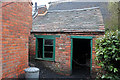 SO9491 : Back yard chain shop - Black Country Living Museum by Chris Allen