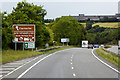 SH5669 : Westbound A55 near Glasinfryn by David Dixon