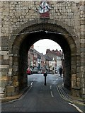 SE5951 : View through the arch, Micklegate Bar by Alan Murray-Rust