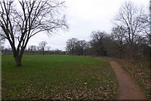 TQ1891 : Path in Canons Park by DS Pugh