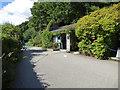 SX1866 : Carnglaze Cavern - ticket office by Stephen Craven