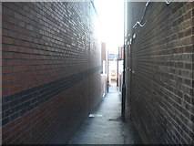TQ1885 : Alleyway off High Road, Wembley by Richard Vince