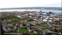 SJ3589 : Liverpool Anglican Cathedral - View SW from tower by Colin Park
