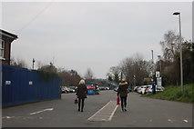 TQ4193 : Car park by Buckhurst Hill tube station by David Howard