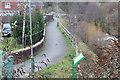 ST2195 : Riverside footpath, Coed Celynen Drive by M J Roscoe