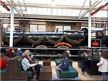 SU1484 : Great Western Locomotive 7821 Ditcheat Manor, Designer Outlet Village, Swindon by Vieve Forward