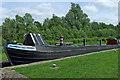 SJ9312 : Working boat in Otherton Lock near Penkridge, Staffordshire by Roger  Kidd