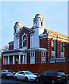 TQ3387 : Stamford Hill : former New Synagogue by Julian Osley