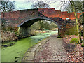 SD7706 : Nickerhole Bridge, Manchester, Bolton and Bury Canal by David Dixon