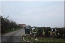 TQ5094 : The entrance to Greenacres Farm, Stapleford Abbotts by David Howard