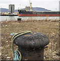 J3576 : Bollard, Belfast by Rossographer