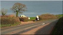 SX8460 : A385 at Glazegate Lane by Derek Harper