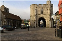 TR1458 : West Gate, Canterbury by Mark Anderson