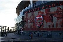 TQ3185 : North end of Emirates Stadium by Christopher Hilton