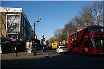 TQ3086 : Crossroads of Hornsey Road and Tollington Road by Christopher Hilton