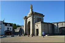 SX4653 : Royal William Yard - main gate by N Chadwick