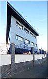 NS3274 : New office building at Ferguson Marine shipyard by Thomas Nugent