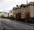 ST1586 : Detached houses, St Martin's Road, Caerphilly by Jaggery