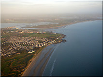 O2443 : Portmarnock and the coast from the air by Thomas Nugent