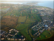 O2342 : Portmarnock and the coast from the air by Thomas Nugent
