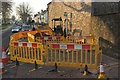 SX9066 : Roadworks, Barton Hill Road, Torquay by Derek Harper