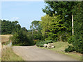 TQ4058 : Norheads Lane by Norheads Farm Cottage by Robin Webster