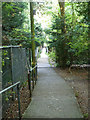 TQ4158 : Footpath from Highfield Road to Kings Road, Biggin Hill by Robin Webster