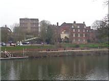 SO8454 : College and The Old Bishop's Palace, Worcester by Jeff Gogarty